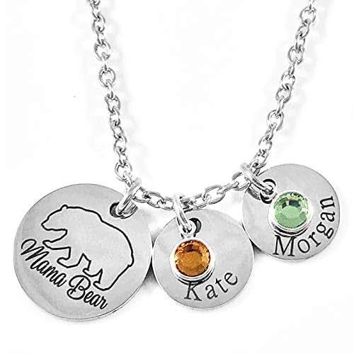 Amazon.com: Engraved Jewelry - Personalized - Mama Bear
