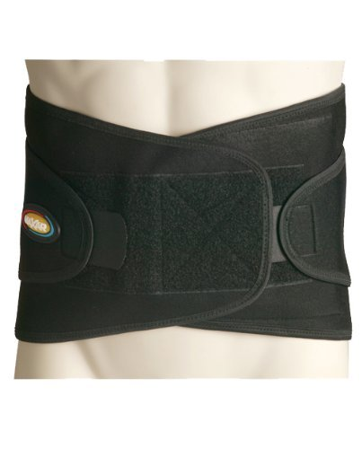 Maxar Airprene (Breathable Neoprene) Sport Belt (Lumbo-Sacral Support), 2X-Large, Black by Maxar