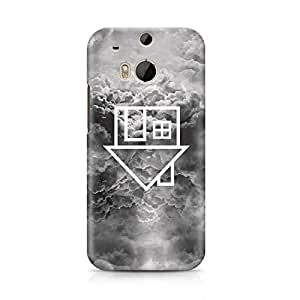 The Neighbourhood The NBHD Clouds Sweater Weather Hard Plastic Snap-On Case For HTC ONE m8