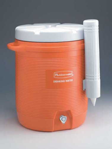 Rubbermaid blanco dispensador de vasos para 10 L agua ...