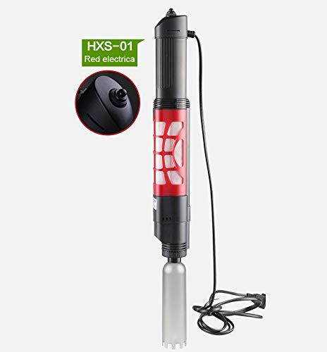 Limpia Fondos sifon electrico para acuarios 350L/h para conectar a Red eléctrica.: Amazon.es: Productos para mascotas