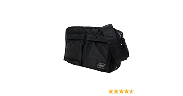Amazon.com  Porter Tanker   Shoulder Bag 06963 Black   Yoshida Bag  Office  Products fd05de1e053de