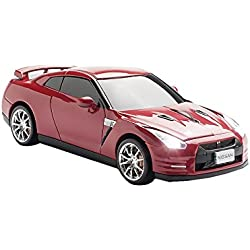 Click Car CCM660271 Nissan GT-R Wireless Optical Mouse, Gold-Flake Red