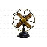 Sailors Art Antique Brass Vintage Table Fan 13