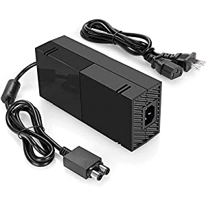 Best Epic Trends 41MVoIeyWiL._SS300_ Xbox One Power Supply [2021 Enhanced Quieter Version] Xbox Plug AC Adapter Charger with Power Cord Best for Charging…