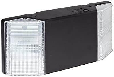 Morris Products 73111 Emergency Lighting Prism Unit, Black, 12 Length, 5 Height, 2.25 Depth