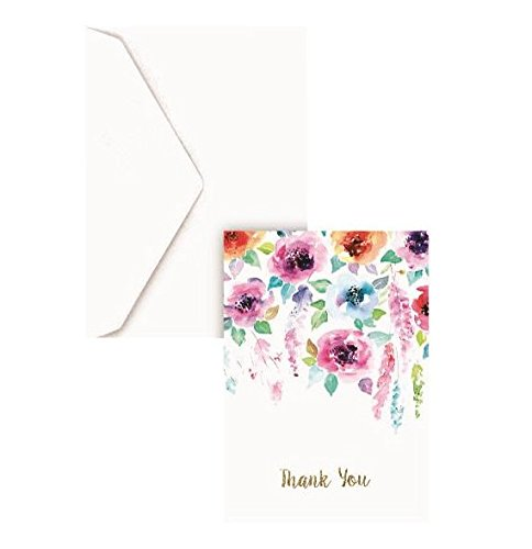Graphique Hanging Floral Boxed Cards Pack of 32 Notecards