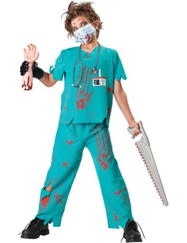 Dr. N Sane Child Costume - (Doctor Zombie Costumes)