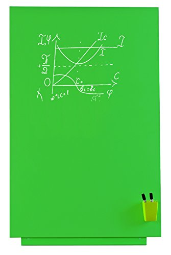 Rocada Visualline Skin Magnetic Chalkboard, 29.5 x 45.3 Inches, Green (6420GR )