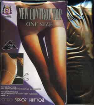 cb32a5b9b DUESANG Women s Control Support Multi Use Pantyhose New Control Top Lycra 3  Pair