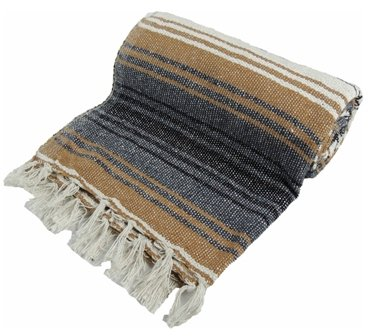 Kakaos Traditional Mexican Style Yoga Blanket