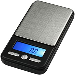 American Weigh Scale AC Series Digital Pocket Weight Scale, Black, 650G X 0.1G (AC-650-BLK)