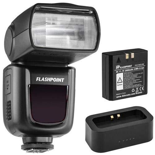 Flashpoint Zoom Li-ion R2 TTL On-Camera Flash Speedlight for Olympus & Panasonic (V860II-O)+ USB Charger