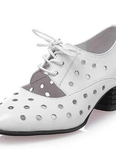 confort Pink 5 Njx Blanc extérieure Chaussures Eu37 Travail Bout Cn37 talon Uk4 Bureau noir 5 amp; Rose Habillé 7 5 Décontracté Bas Soirée Evénement Femme us6 xFxrZ