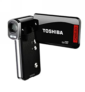 Toshiba Camileo P100 HD Camcorder with 5x Optical Zoom and 3-Inch LCD Screen (Black) (Discontinued by Manufacturer)