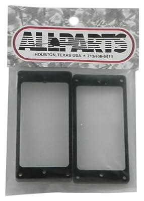 All Parts PC 0743-023 Black Humbucking Pickup Ring Set