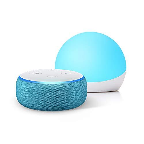 Echo Dot Kids Edition - Blue - With Echo Glow