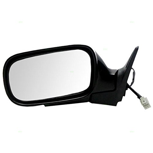 Drivers Power Side View Mirror Textured Replacement for Subaru 91031SA050 AutoAndArt (Subaru Forester Driver Mirror)