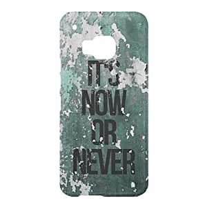 Loud Universe HTC One M9 It's Now Or Never Print 3D Wrap Around Case - Multi Color