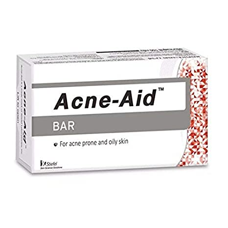 Amazon Com Acne Aid Soap Bar For Acne And Oily Skin 100 Grams Beauty