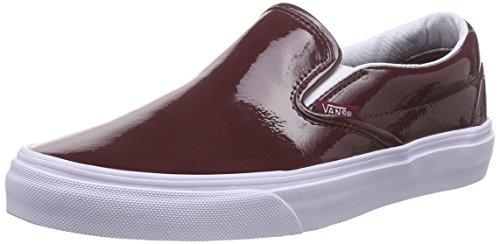aaf2d0e683 Vans Unisex Tumble Patent Burgundy Slip-On - 7 - Buy Online in Oman ...