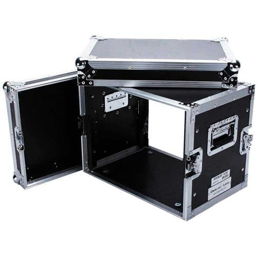 Deejay LED Fly Drive 8U Space Effect Case - 14'' Body Depth with Low Profile