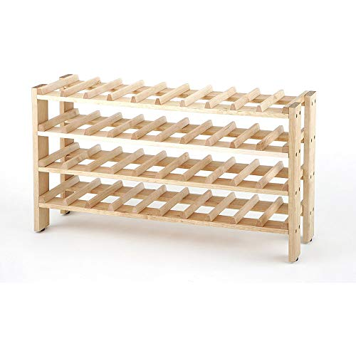 OKSLO 40-bottle birchwood wine rack, frn04714 ()