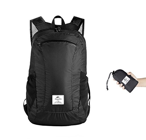 Naturehike 18L Ultralight Collapsible Backpack (Black) by Naturehike (Image #6)