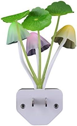 2X USB Led Mushroom Light Mini Led Light For Home Party Change Color Music Bulbs