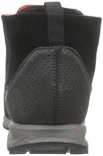Element ELEMENT HAKONE - zapatillas deportivas altas de cuero hombre negro - Schwarz (BLACK TOMATO 3890)