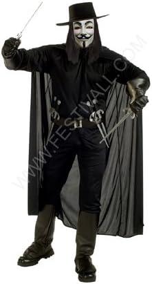Festival Magia y Malabares Disfraz V for Vendetta (R155): Amazon ...