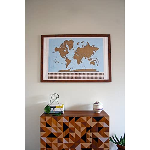 Well wreapped large scratch off world map poster includes us well wreapped large scratch off world map poster includes us states country capitals gumiabroncs Gallery