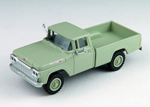 Classic Metal Works MWI30475 HO 1960 Ford 4x4 Pickup, April Green