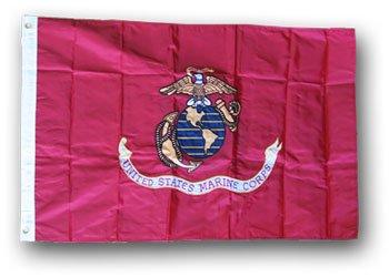 世界的に Marines ' – 3 ' x 5 ' Double Sidedナイロンフラグ Marines Sidedナイロンフラグ B0051P0ZY0, 墨田区:e8805835 --- umniysvet.ru