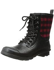 Chooka Women's Cara Plaid Rain Boot
