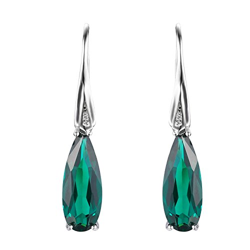 JewelryPalace-Water-Drop-41ct-Created-Nano-Russian-Emerald-Drop-Dangle-Earrings-925-Sterling-Silver