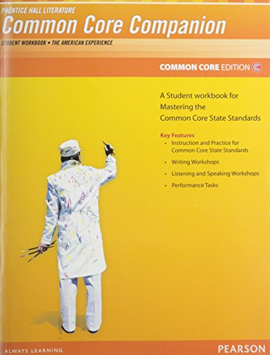 PRENTICE HALL LITERATURE 2012 COMMON CORE STUDENT WORKBOOK GRADE 11