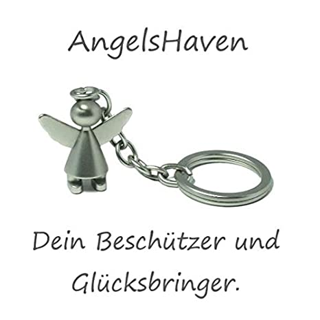 AngelsHaven - Llavero de ángel de la Guarda para Coche, para ...