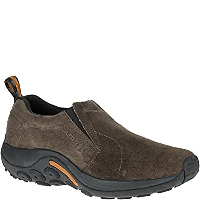 Merrell Jungle Moc Men's Lifestyle Shoe, Gunsmoke, 7 US