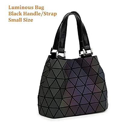 47e3ac318fc1 Slab Luminous Women Geometry Diamond Tote Quilted Shoulder Bags ...