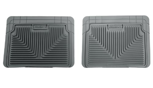 2008 Ford Escape Husky - Husky Heavy Duty Floor Mats, 2pc 2nd Seat Mats, Color: Gray 52022