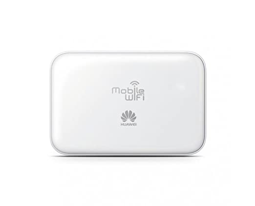 Huawei E5730 3G SIM Free Mobile WiFi UK (Genuine UK Stock) - White (42MB/s)  5200mAH External Battery Power Bank Charger