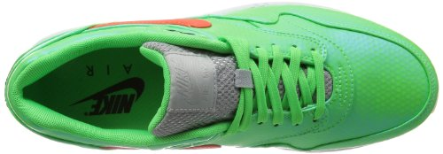 Nike Mens Air Max 1 Fb Premium Qs Mercurial Synthetisch Hardlopen, Crosstrainer Blauw Crimson Lime