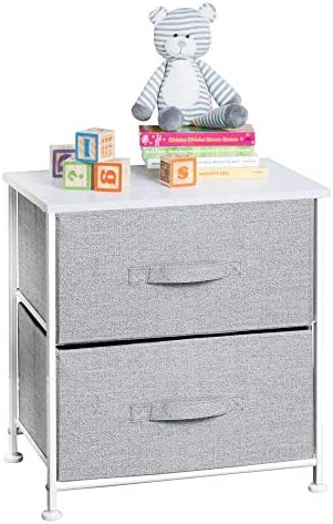 baby products, nursery, furniture, changing, dressing,  chests, dressers 7 on sale mDesign Short Vertical Dresser Storage Tower - Sturdy Steel promotion