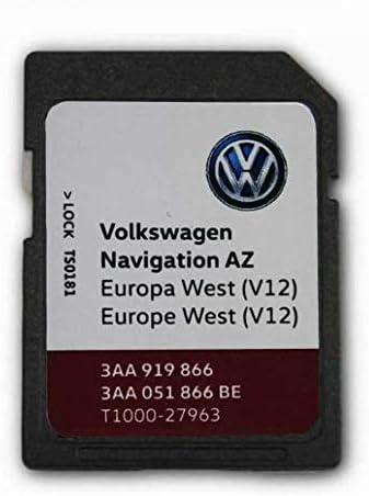 Volkswagen Skoda Seat 2020 V12 Westeuropa Rns315 Amundsen Navigation Sd Karte Teilenummer T1000 27963 Navigation
