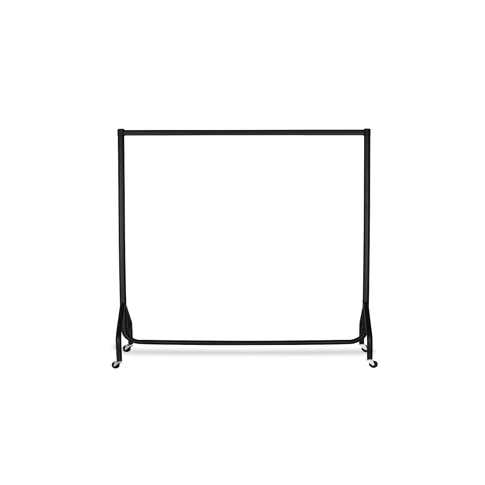 1,2 m color blanco 4ft 1,5 m y 1,8 m Perchero con ruedas color blanco Tama/ños: 0,9 m