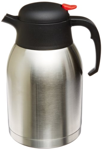Insulated Carafe Stainless Steel Vacuum - Genuine Joe Double Wall Stainless Vacuum Insulated Carafe