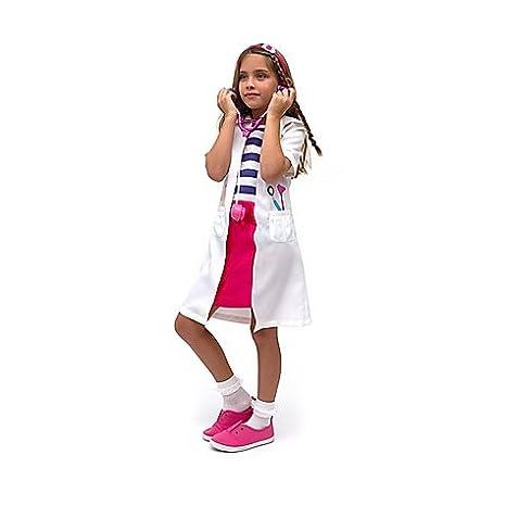 ultimo stile meticolosi processi di tintura costruzione razionale Disney Store costume 5-6 anni Dottoressa Peluche Dottie ...