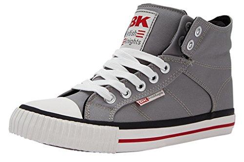 British Knights Roco - Zapatillas deportivas de caña alta para adultos grau