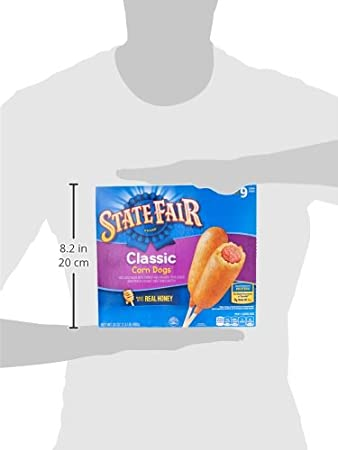 State Fair, Classic Corn Dogs, 9 Count (Frozen): Amazon.com: Grocery & Gourmet Food